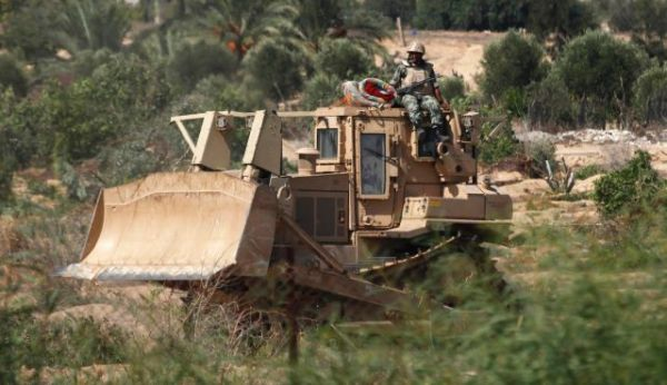 Egypt bulldozer